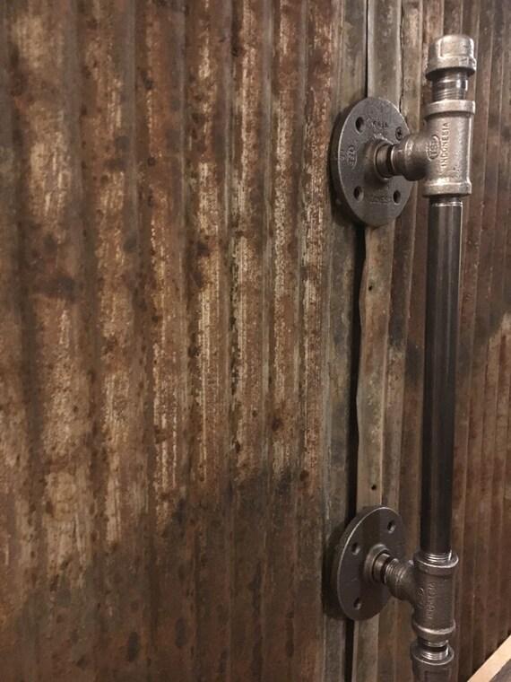 Industrial Pipe Door Handle Barn Door Handle Pipe Door