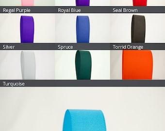 Ribbon Bazaar Solid Grosgrain Ribbon 2-1/4 inch By the Yard 100% Polyester