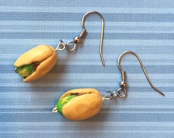 Pistachio Dangle Earrings