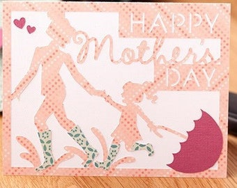 Mother and Daughter Mother's Day Card