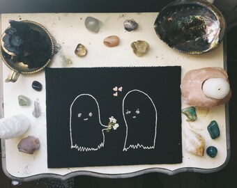 Ghostie embroidery