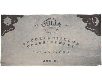 Halloween Ouija Board All Over Beach Towel