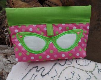 Spring Time Glasses Bag