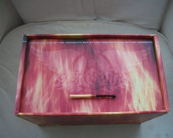 "Aerosmith ""Box Of Fire"" Box Set CD's"