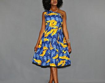 African print Dress/ Dashiki Dress/ African Prom Dress/ Ankara Dress/ African Dress/ African Styles/ African fashion
