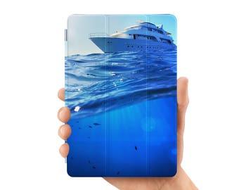 ipad air 2 case smart case cover for ipad mini air 1 2 3 4 5 6 pro 9.7 12.9 retina display sailing