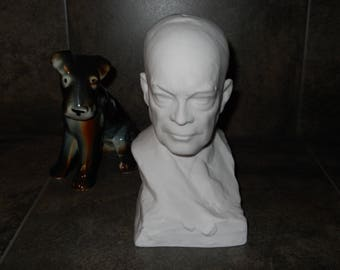 Dwight D. Eisenhower Limited Edition #862 of 1000 Fine Bone China Bust/Statue.