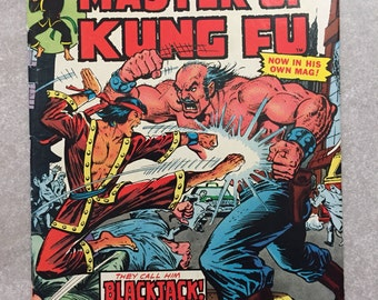 Master of Kung Fu #17! 1st issue in Shang-Chi solo series! Marvel 1974