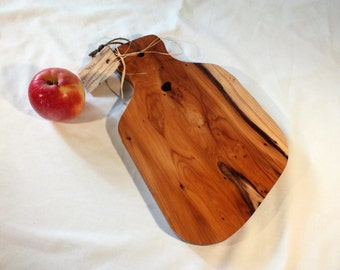 Yew chopping board