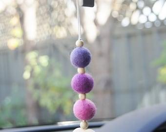 Aroma Car Charms - Purple