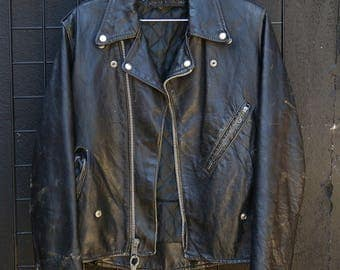 0173 Vintage Motorcycle Jacket
