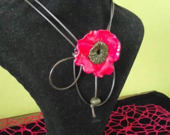 Handmade jewelry necklace