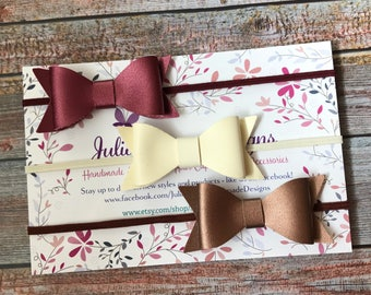 Bow Headbands, Baby Headband, Baby Bow, Baby Girl Headband, Leather Bow, Baby Headbands, Newborn Headband, Infant Headband, Bow Headband