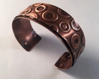 Lifesaver Copper Cuff