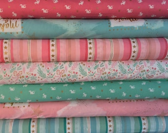 Magic Bundle by Sarah Jane for Michael Miller Fabrics - 7 different fabrics