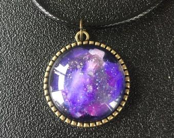 Tree of Life Galaxy Pendant