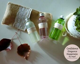 100%Organic Floral Infused Water 100ml Jasmine Rose Chamomile DIY spray skincare