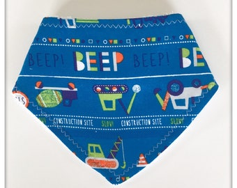 Dribble Bib- Baby Bib- Teething Bib- Bandana Bib- Toddler Bib- Drooling Bib