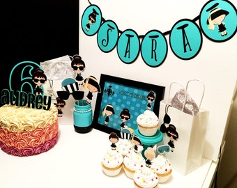 Breakfast at Tiffany's Inspired Party Pack