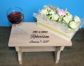 Personalized Step Stool,Gift for Wedding,Gift for Parents,Gift for Children,Valentine's Day, Birthday, Father's Day,Step Stool,Mother's Day