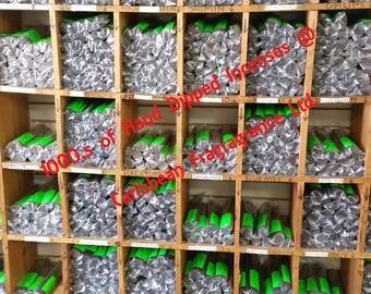 1000 Bulk Hand Dipped Fresh Handmade Incense Sticks -  (10 Packs of 100 ea.)  - Choose Scents