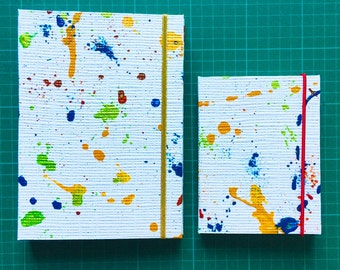 Carnet . Petit cahier . Papeterie Creative . Fait main . Made in France . Cadeau original . Fete . Personnalisable . Notebook . Notepad