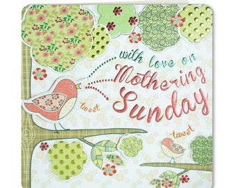SALE 70% OFF normally 3.25 now only 98p - Decoupage Collection - Mothers Day - Mum  - Mothering Sunday - Mothers Day Card - DC05