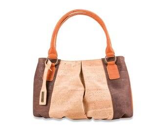 Cork bag, handle bag, ladies handbag