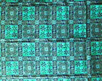 Batik Fabric, Cotton , 105 cm X 165 cm
