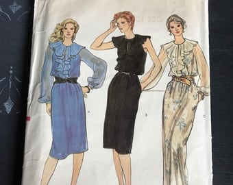 Vintage Vogue Dress Pattern 7978