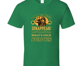 Make Beer Disappear funny St Patricks day tshirt,st patricks day tops,irish tshirt,st patricks day clothing,drinking tshirts,irish and proud