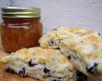 Gift Set, English Tea Party Package, Orange Marmalade, English Scones