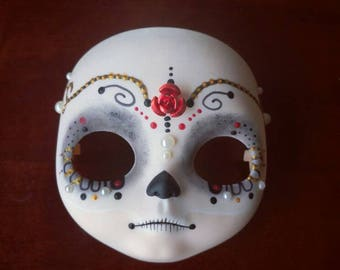 SALE! Blythe Custom Faceplate Mexican Skull, Katrina, Cavalera, Day of the death, Dia de Los muertos