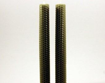 Taper Candles- 100% Beeswax Candles Hand Rolled