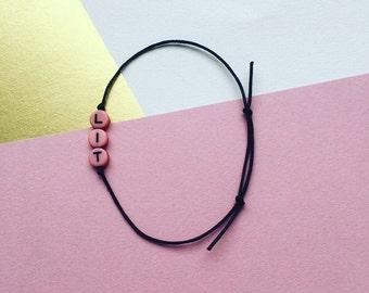 Lit Bracelet // Lit Armband