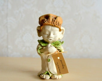 handmade ceramics, ceramics statuette, rarity, present