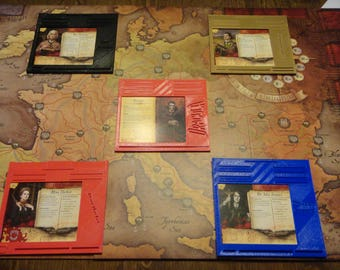 Fury of Dracula Game Gear : Player Dashboards Set of 5
