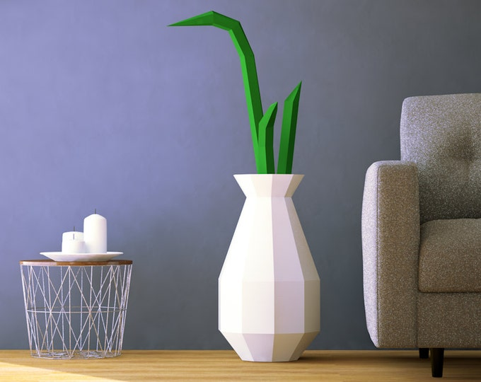 Vase with bamboo decoration for floor, living room decoration, bedroom decorations, party decoration ideas, party decor, birthday party