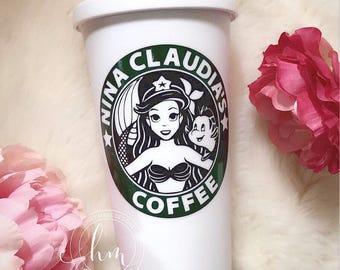 Ariel Starbucks Travel Mug