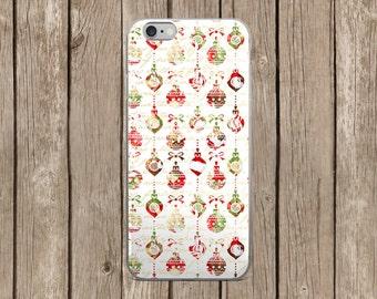iPhone 5/5s/SE   iPhone 6/6s   iPhone 6 Plus/6s Plus   Christmas Ornaments Design iPhone Case