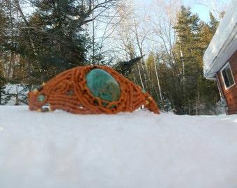 Mini Macrame bracelet Turquoise