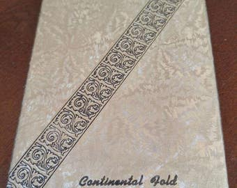 Vintage 1950's Handkerchiefs all Cotton Continental Hold original Package*