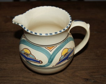 A Vintage Honiton Milk Jug