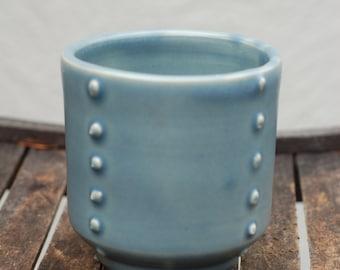 Cornflower Blue Tea Bowl