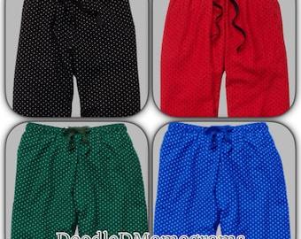 Monogrammed pajama pants /bridesmaid gifts / pajama bottoms / monogrammed sleep pants