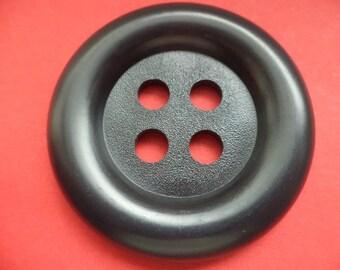 Big Knob 50mm Black (1044) buttons coat buttons 5cm