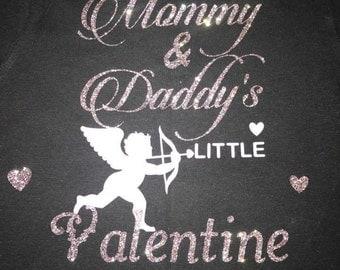 Custom Little valentine shirt