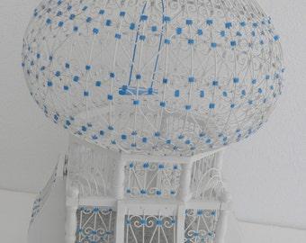Handcrafted Sidi Bousaid Bird Cage
