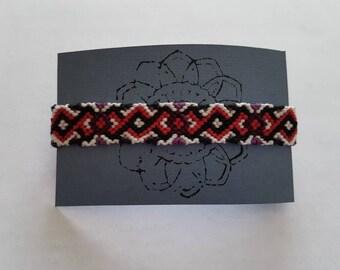 Handmade Woven Friendship Bracelet (Adjustable)