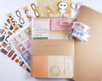 Mini's Stationery Subscription Box for Traveler's Notebooks